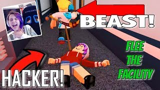 Chad The Beast And Audrey The Hacker In Roblox Travel And